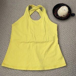 Lululemon Vtg Sport Tank Yellow